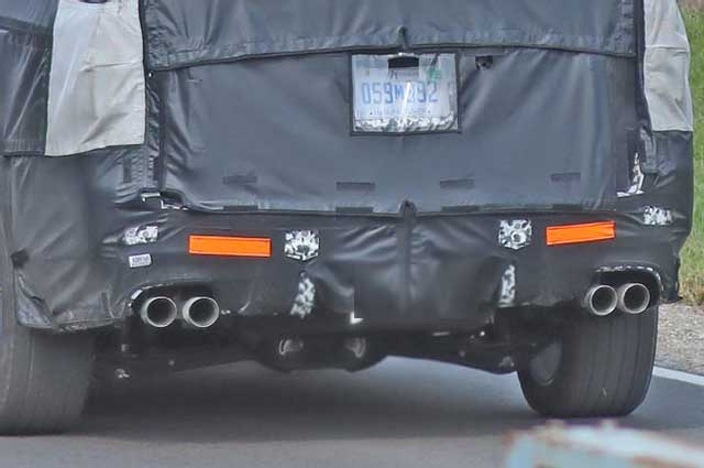 2020 Chevy Suburban spy shots