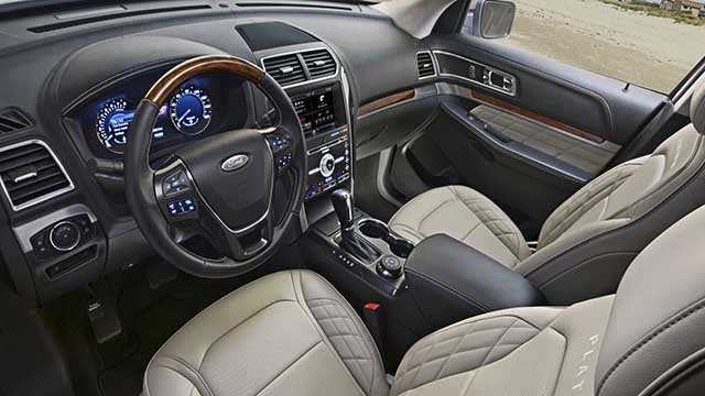 2020 Ford Expedition platinum interior