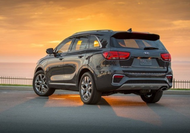 2020 KIA Sorento changes