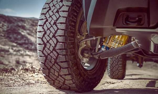 2019 Chevrolet Colorado ZR2 wheels