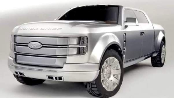 2018 Ford Super Chief Rumors About Production Concept 2019 And