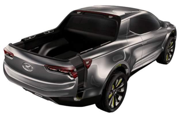 2018 Hyundai Santa Cruz Pickup rear
