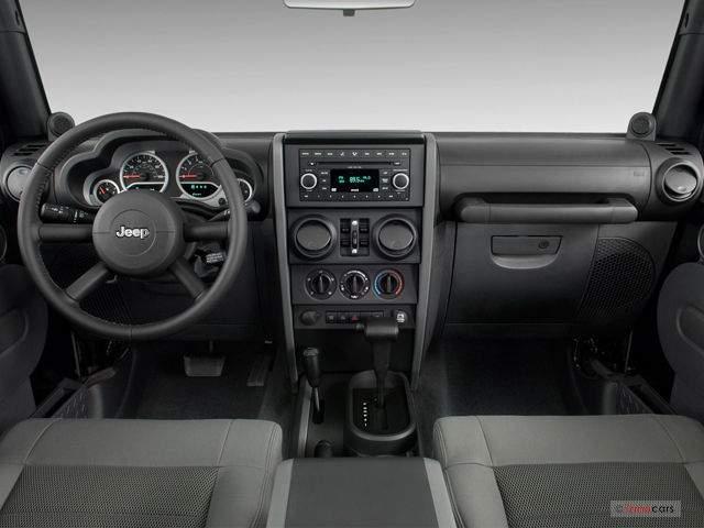 2019 Jeep Wrangler Diesel Pickup Truck Interior