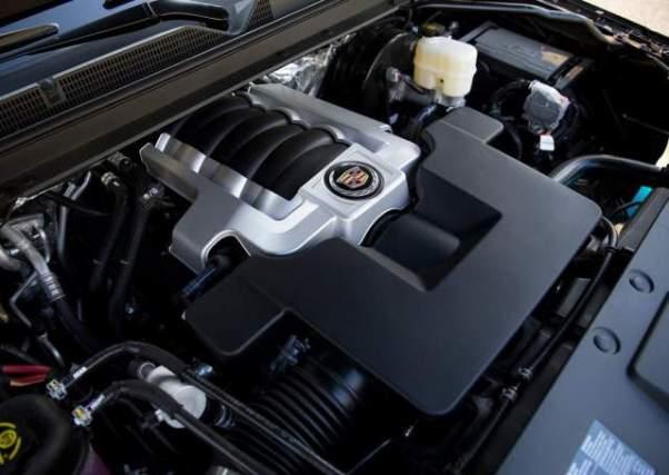 2018 Cadillac Escalade EXT engine