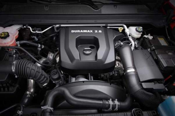 2019 Chevrolet Colorado Diesel engine
