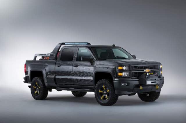 2018 chevy silverado ss concept details and speculations. Black Bedroom Furniture Sets. Home Design Ideas