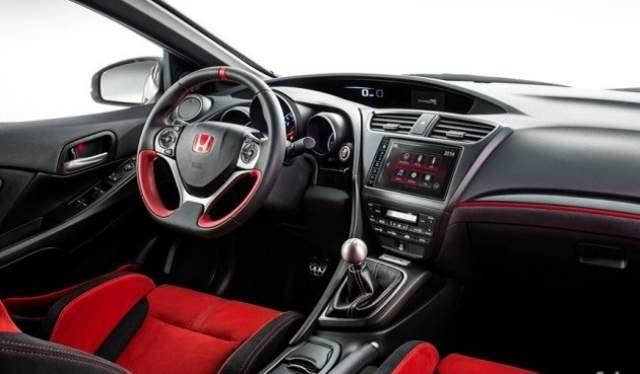 2018 Honda Ridgeline Type R interior