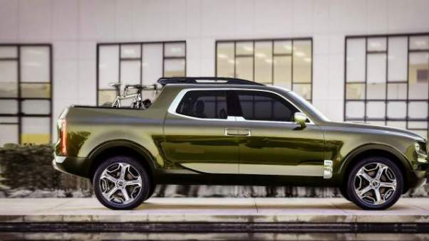 2018 Kia Pickup Truck Concept side