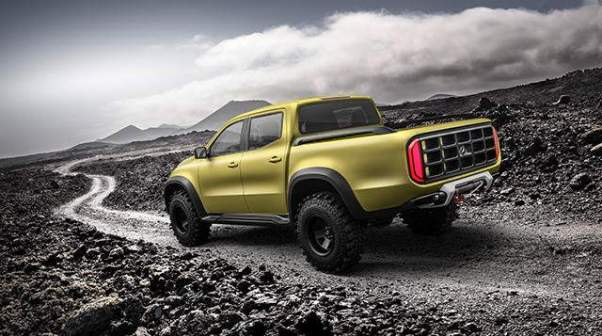 2018 Mercedes-Benz X-Class Pickup rear