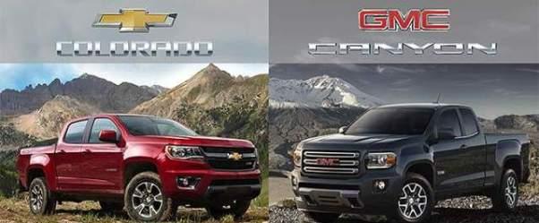 Chevy Colorado and GMC Canyon