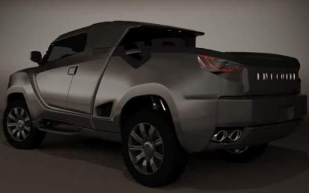 Infiniti Pickup Truck Concept side