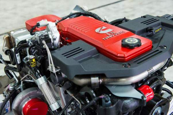 2019 Ram 3500HD Diesel Cummins engine