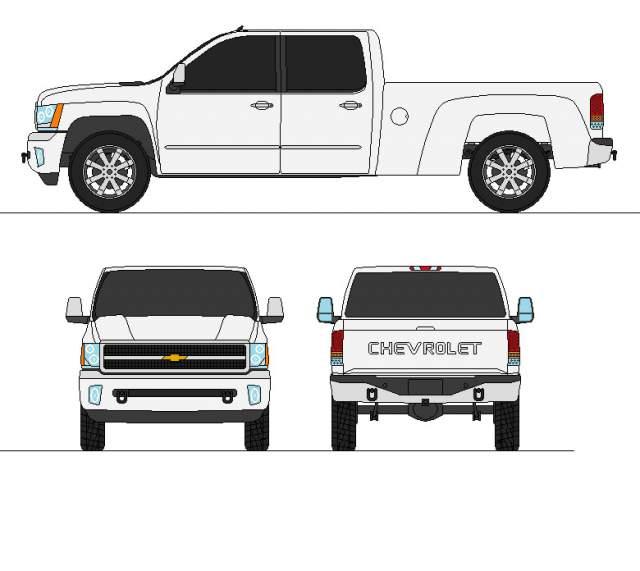 2019 Chevy Silverado 4500HD concept