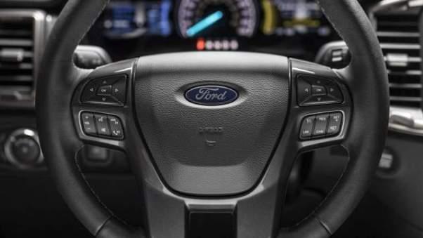 2019 Ford Ranger steering wheel