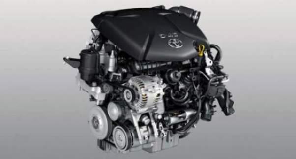 2019 Toyota Tacoma Diesel engine