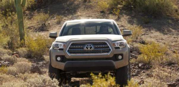 2019 Toyota Tacoma Diesel front fascia