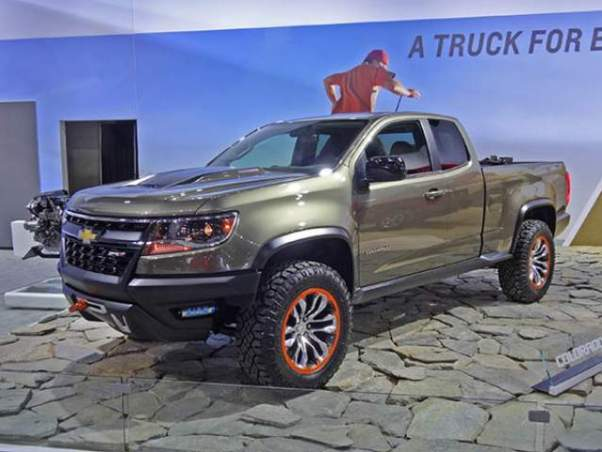 2020 Chevy Colorado ZR2 Prototype Concept - 2019 and 2020 ...