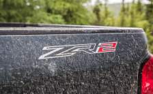 2020 Chevy Colorado ZR2 Prototype sign