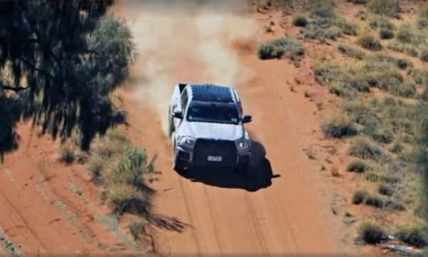 2019 Ford Ranger Raptor spy shot