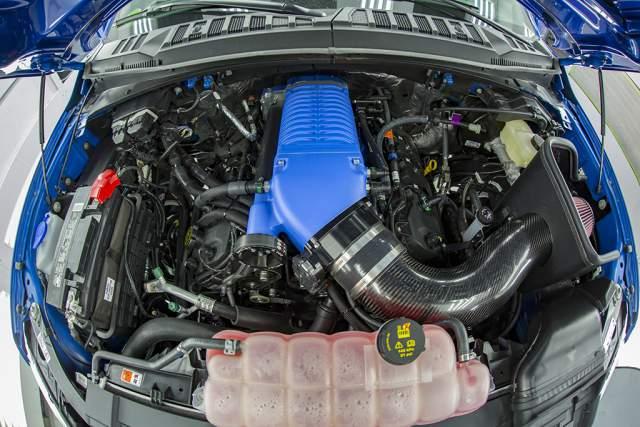 2019 Ford F-150 Super Snake engine
