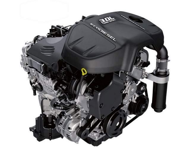 2019 GMC Sierra 1500 duramax turbodiesel engine
