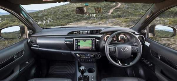 2018 Toyota HiLux Rugged X interior