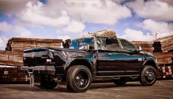 2019 Dodge ram 3500 rear