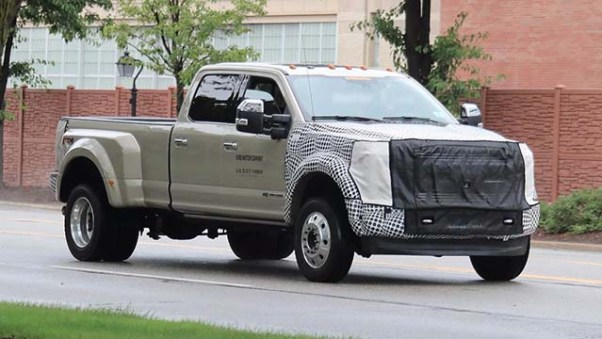 Ford Super Duty spied