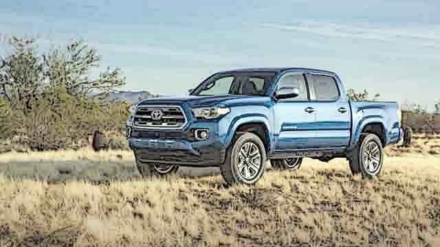 Toyota Tacoma Hybrid side