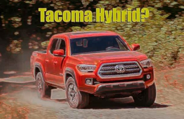 toyota tacoma hybrid comes instead of diesel 2019 and. Black Bedroom Furniture Sets. Home Design Ideas