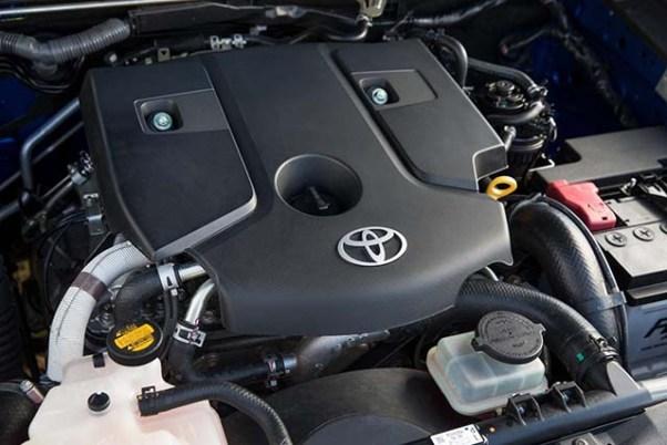 2019 Toyota HiLux diesel engine