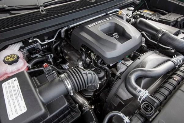 2019 GMC Canyon Denali duramax engine