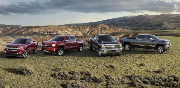 chevy and gmc trucks