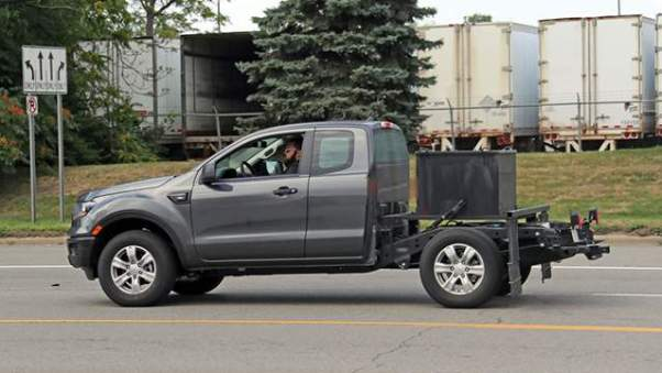2019 Ford Ranger XL Chassis Cab side