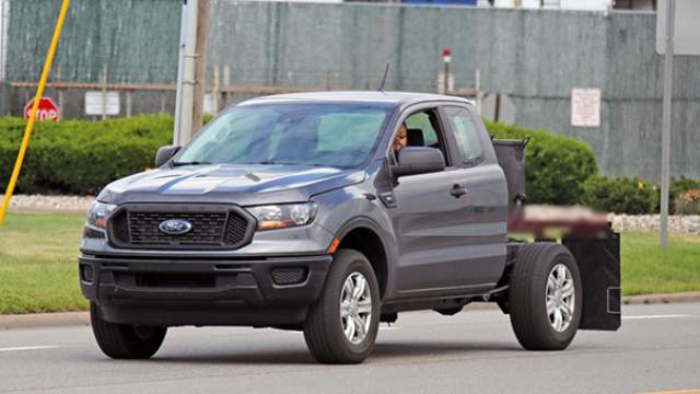 2019 Ford Ranger XL Chassis Cab