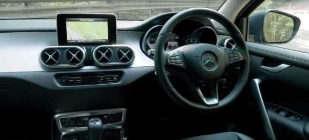 2019 Mercedes X-Class ute interior