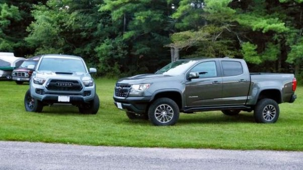 2019 Chevrolet Colorado ZR2 vs 2019 Toyota Tacoma TRD Pro price