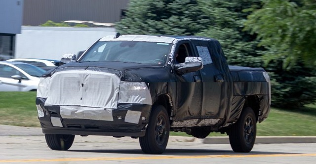 2020 Ram 2500 Mega Cab Laramie Spy Shots and Towing ...