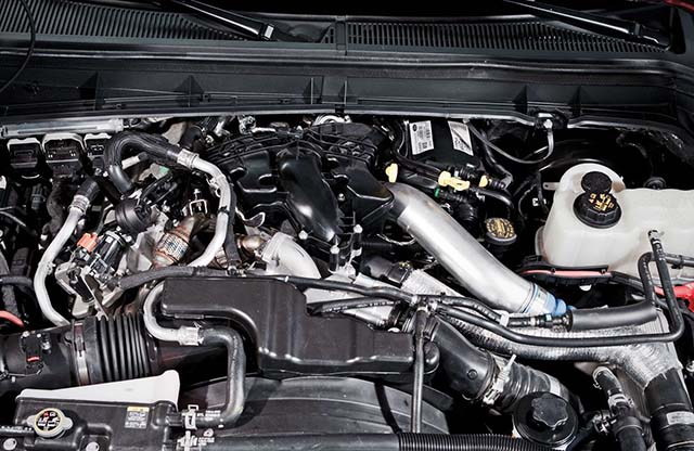Forf F550 Towing Capacity diesel