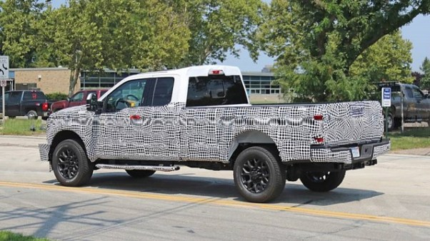 2020 Ford Super Duty 7.0 V8 engine
