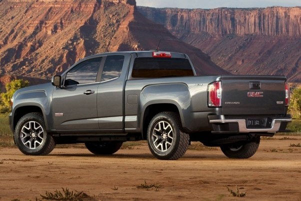 2020 GMC Canyon colors