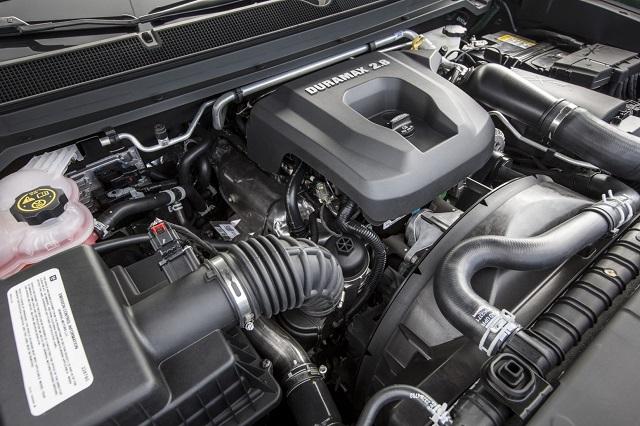 2020 GMC Canyon diesel specs