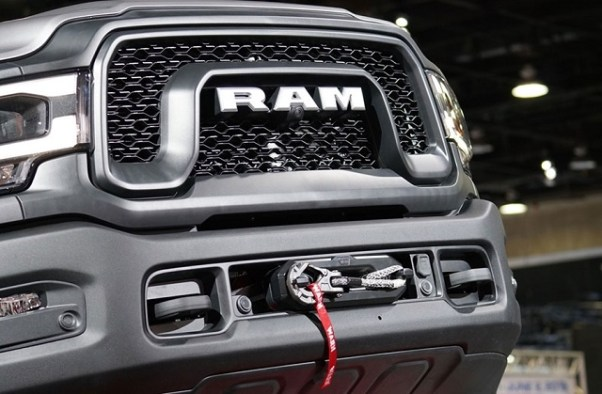 2020 RAM Power Wagon HD Diesel winch