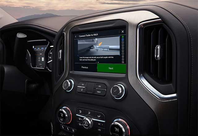 2020 Sierra 1500 interior