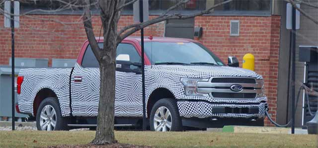 2021 Ford F-150 Full-Electric Pickup Truck release date