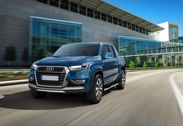 Audi truck