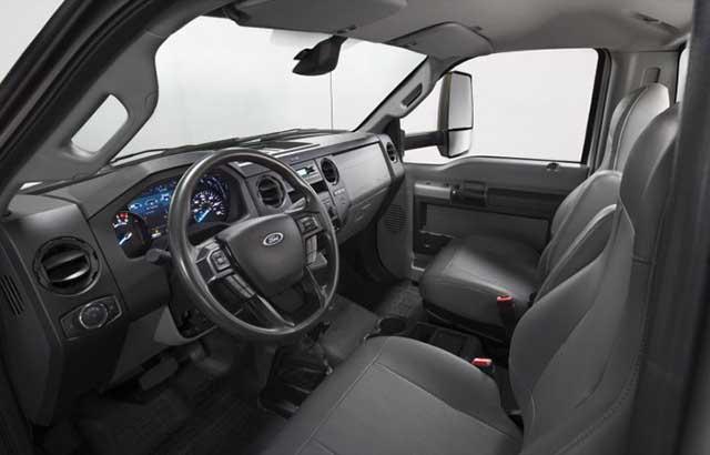 2021 Ford F-650 and F-750 Medium Duty Trucks interior