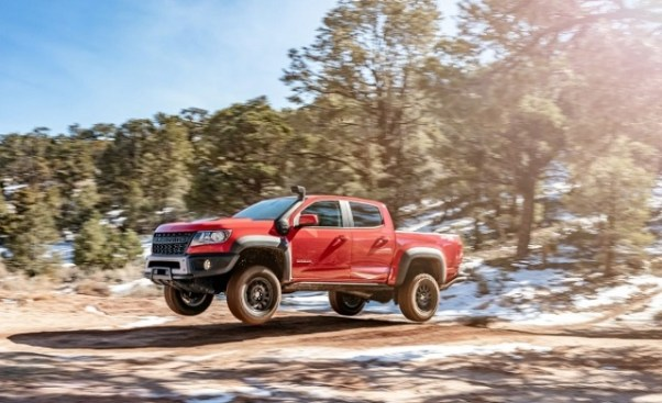 2021 Chevy Colorado redesign