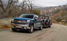 2021 Chevy Silverado 1500 Diesel towing capacity