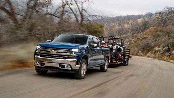 2021 Chevy Silverado 1500 Diesel towing capacity
